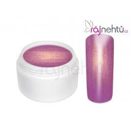 Ráj nehtů Barevný UV gel GOLDEN - Purple - 5ml