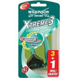 Wilkinson Xtreme3 Sensitive žiletky 3+1 ks