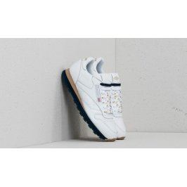 Reebok x Beams Classic Leather White/ Gold Metallic/ Collegiate Navy